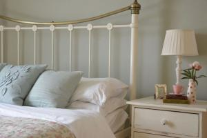 The main bedroom at Bay Tree Cottage, self catering in Hartland North Devon