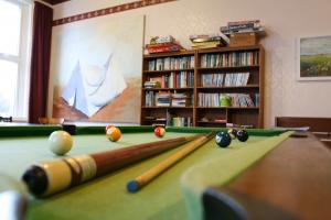 Berry Park games room, wonderful Victorian holiday apartments at Welcombe