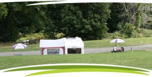 Plenty of space at Fosfelle Caravan Club site, Hartland, North Devon