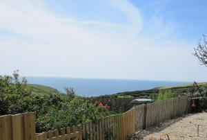 The view from Kittiwakes B&B, Hartland, North Devon - luxury lodge s/c or  bed and breakfast