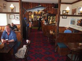 The Wrecker's Bar at Hartland Quay Hotel