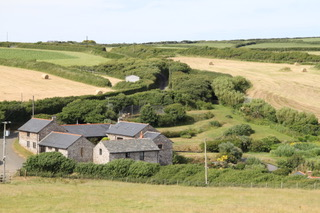 Exterior of Southole Barns, high quality, tastefully appointed and comfortable self-catering barn conversions in Welcome on the North Devon and North Cornwall border