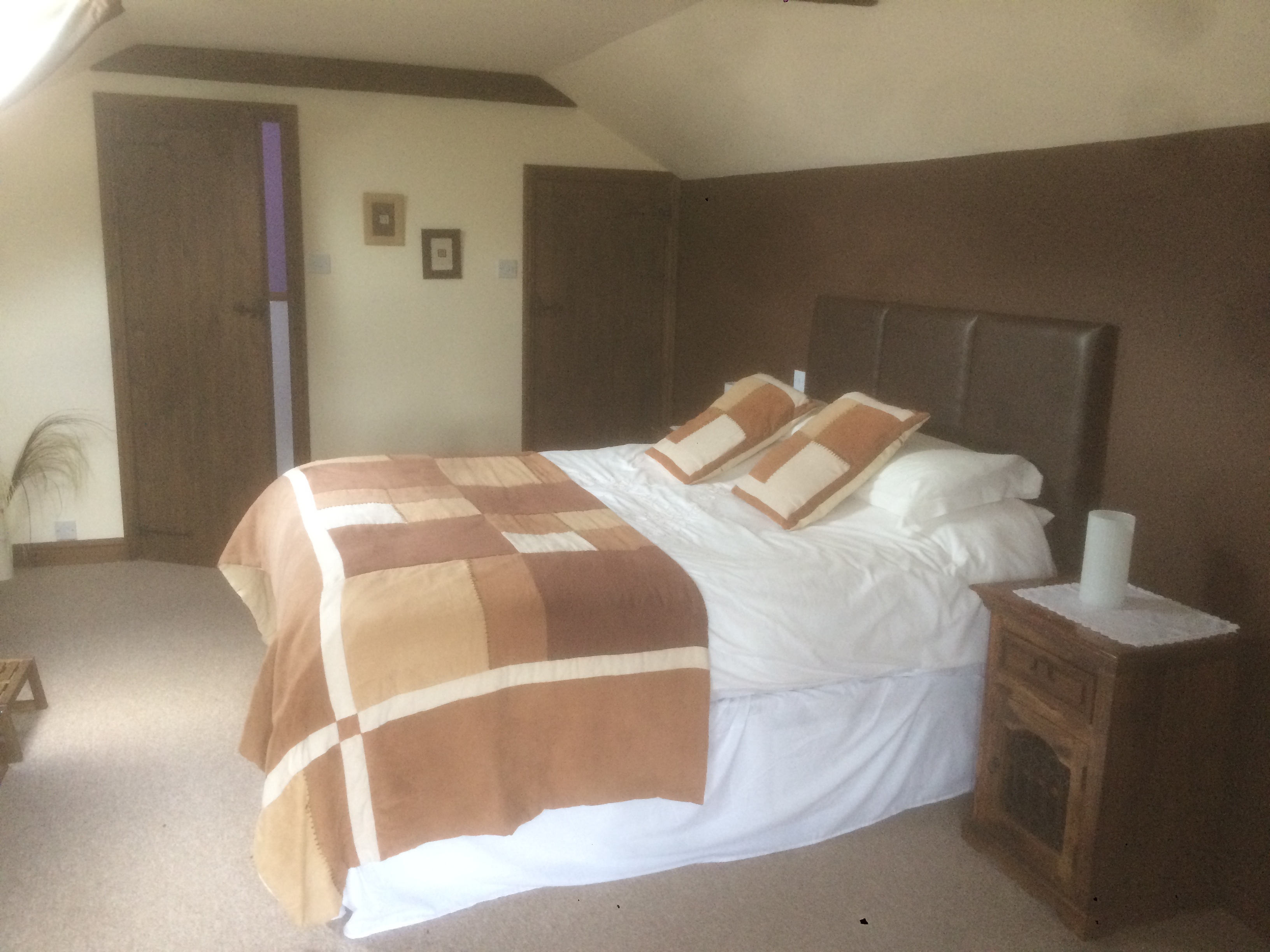 The bedroom at the Old Granary, lovely farmhouse B&B in Hartland, North Devon