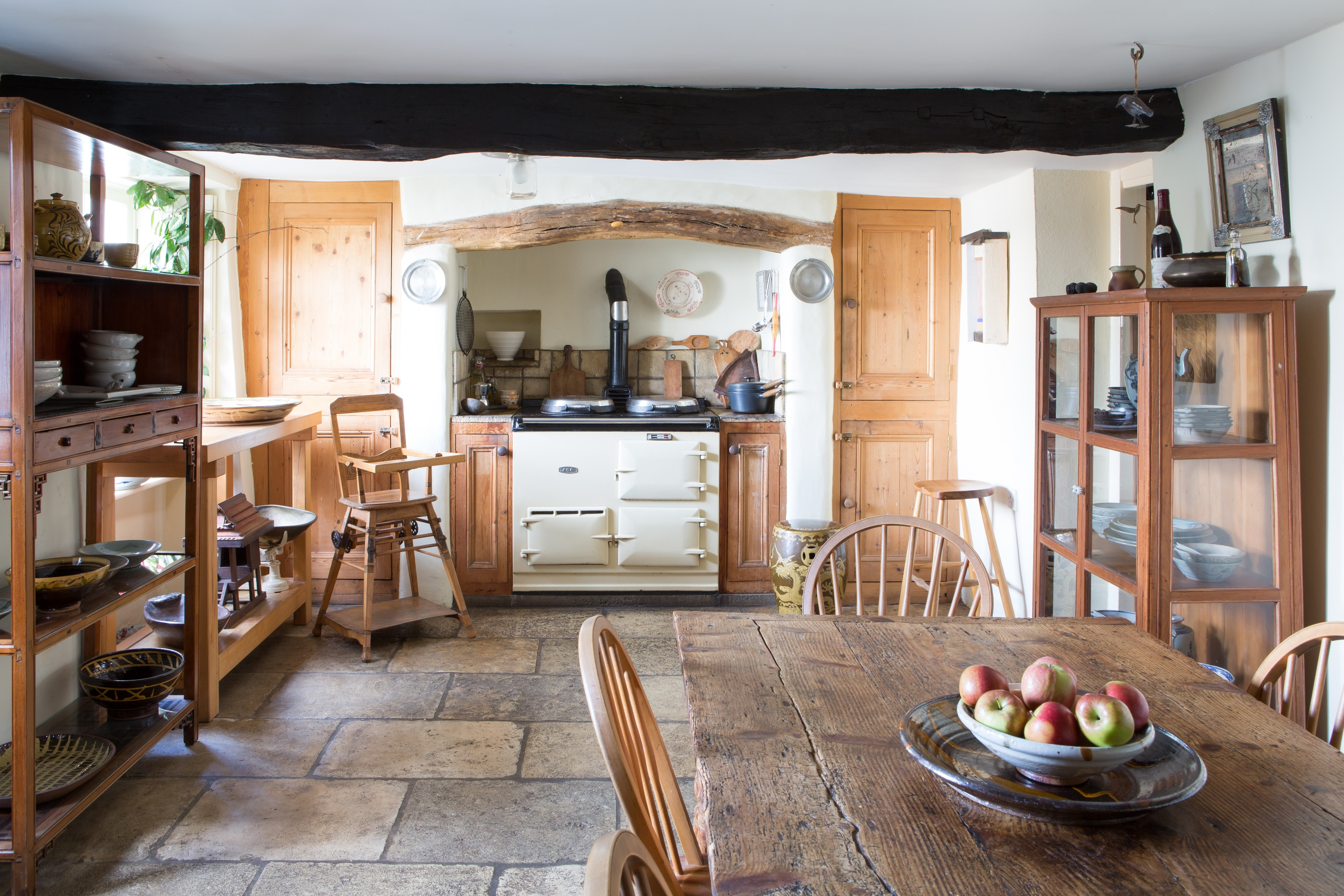 The kitchen at 2 Harton Manor B&B, the perfect place to stay for bed and breakfast in North Devon and North Cornwall