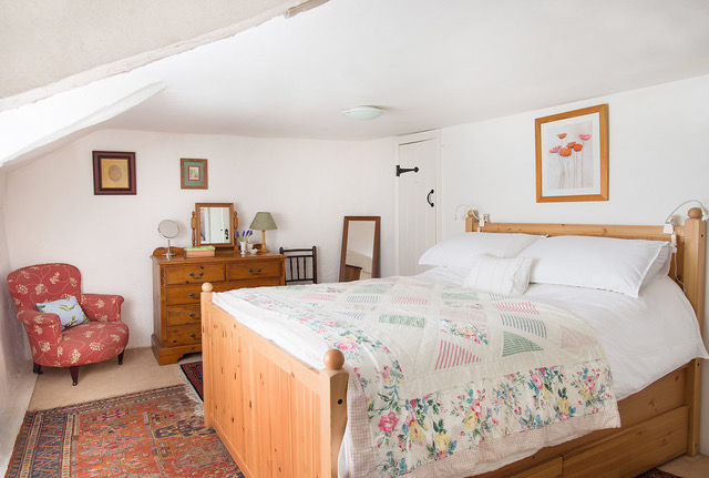 Philham Water Holiday Cottage Hartland North Devon - beautiful double bedroom