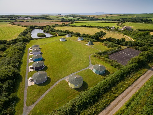 3 acres and lake, finest glamping, north devon, coastal cabins