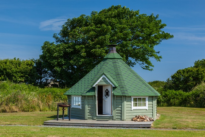 Year round, finest Glamping in North Devon
