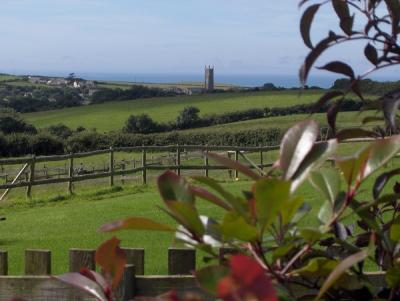 View from Cheristow to Stoke copyright Cheristow Cottages