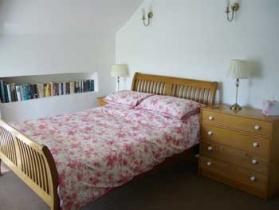 Double Bedroom at East Titchberry Farm Cottage, Hartland - cosy self-catering