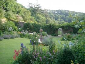 Hartland Abbey Walled Garden,Hartland Abbey, Hartland, North Devon.