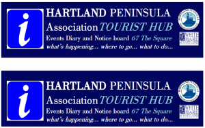 Hartland's Tourist Information Hub at The White Hare Gallery, 67 The Square