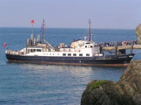 SS Oldenburg Lundy Island off the Hartland Peninsula