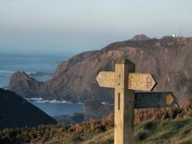 The South West Coast Path on the Hartland Peninsula