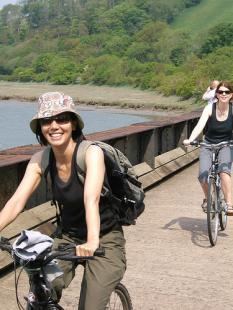 Cycling through Tarka Country on the Tarka Trailn - Stuart Berry