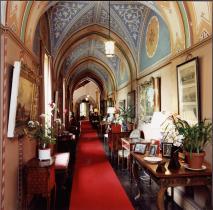 The Alhambra Corridor, Hartland Abbey, Hartland, North Devon