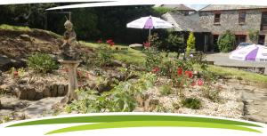 Al fresco dining at Fosfelle Country House & Cottages, Hartland, North Devon