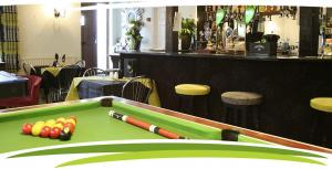 The games area at Fosfelle Country House & Cottages, Hartland, North Devon