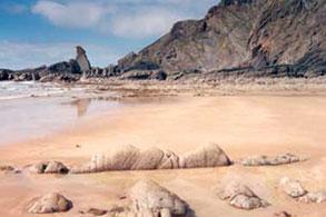 Tide's out at Hartland Quay, Hartland, North Devon