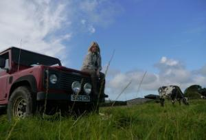 Food & Farm Safari with Wild Cook at the Sweet Chilli Beef Company, Hartland, North Devon