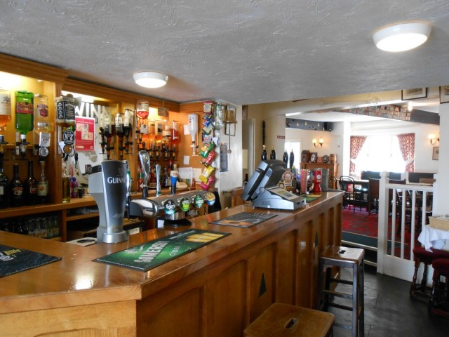 The Up Along Bar at The New Inn, Clovelly, North Devon