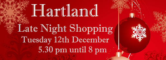 12th December 2017 Late night christmas shopping in Hartland