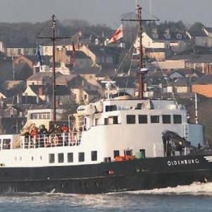The MS Oldenbury, regular sailings to Lundy from Bideford and Ilfracombe from March to October