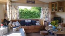 Lovely, coastal inspired self catering caravans to hire close to Hartland Village in an area of outstanding natural beauty