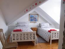 twin room, 97 west street, Hartland, North Devon, Holiday Let